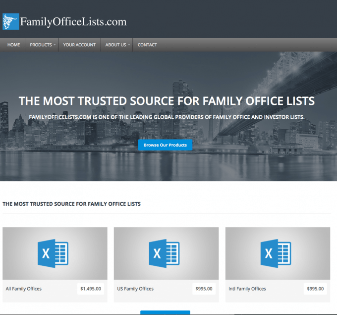 family office lists